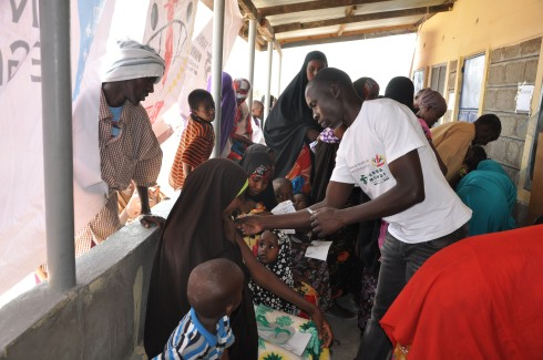 combatir la epidemia de polio en Dadaab (Kenia) MEDIA
